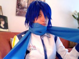Joey as Kaito by blondewolf2