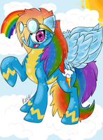 I am the rainbow in the sky~ by Cattshire