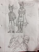 Heroes Doodles by Wolfchick36