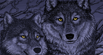 Timber Wolves - pixel by astercrow