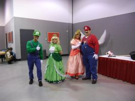 Peaches and the Plumbers by kcjedi89