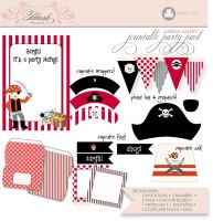 printable pirate party pack by ohsoglam52