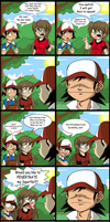 Pokemon Comic_Speak Red by Natty354