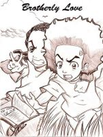 A Friendly Brother Love by The-Boondocks-Crew