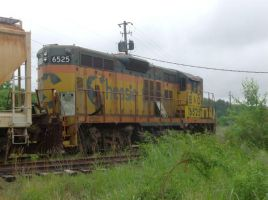 Chessie System 6525 by CNW8646