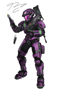 Commission - Spartan A131 by Guyver89