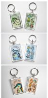 Pokemon Keychains Gen 2 by pookat
