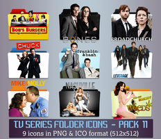 TV Series - Icon Pack 11 by apollojr