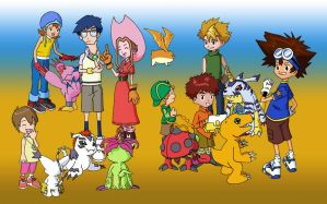 Digimon Adventure by Ulfin