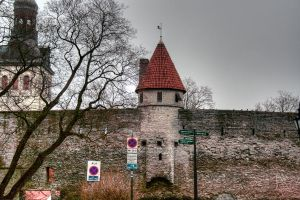 Town wall by Quipith