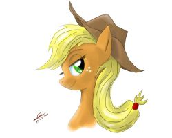 Just Applejack by metalfoxxx