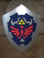 Legend of Zelda Hylian Shield by sugarpoultry