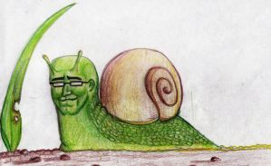 Snail-man by TheWallProducciones
