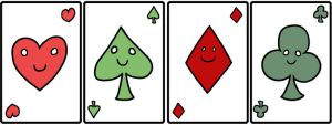 Playing cards - Aces by catiniata