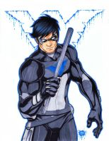 John blake?... naawww NIGHTWING by FooRay