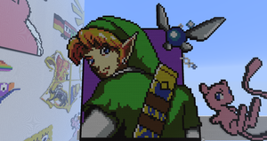 The BEST Pixel Link EVER! by BannerWolf