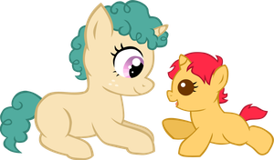 I'm a big sister now... by LudiculousPegasus