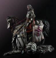Saint George miniature 02 by sbmaniac
