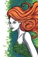 Poison Ivy Headshot7 by RichBernatovech