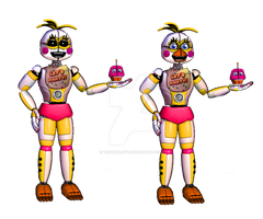 Funtime Chica by LuckyRabbit31