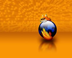firefox wallpaper by BeaverDesign