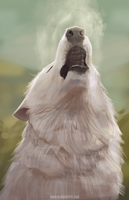 Awoo by BlindCoyote