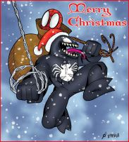 Venom Claus by pascal-verhoef