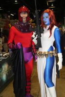 Magnetto and Mystique by VoiceofSupergirl
