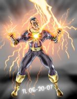 Black Adam's Lightning by DragonArcher
