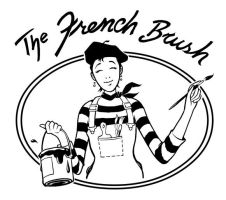 The French Brush Logo by ColbyBluth