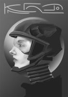 Girl Helmet by Nowio