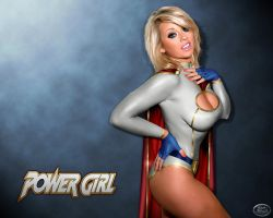 PowerGirl Desktop 5 by wolverine1607