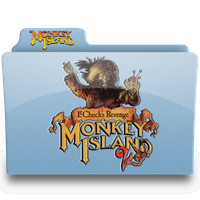 monkey island 2.1 folder by femfoyou