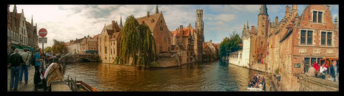 Bruges [Belgium] HDR Panorama by jdesigns79