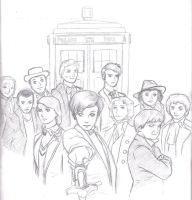 Doctor Who by mahha-gogogo