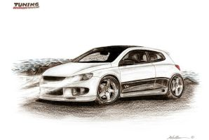 VW Scirocco by LukeDesigns