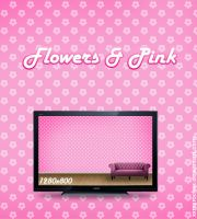 Flowers and Pink by xxmsrockxx