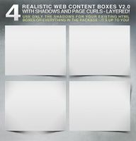 4 Realistic (separated) web boxes by Cech1330