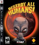 Destroy all humans PS3 Cover by stand87