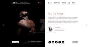 Fitness: Unique design meets Wordpress by ait-themes