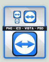 TeamViewer Tango Icon by SacrificialS