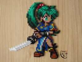 Lyndis Card Saga Wars Perler Beads by Cimenord