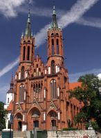 Bialystok - cathedral by kwizar