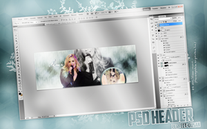 DemiLovatoPsdHeader[Perfect-Ousan] by Perfect-Ousan