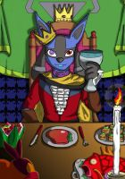 [gift] King Dinner by QueenSolaris