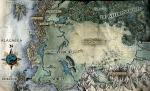 Eragon Map by thorn11166