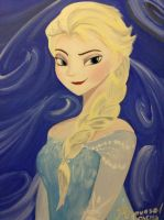 Another Portrait of Elsa by DNLINK
