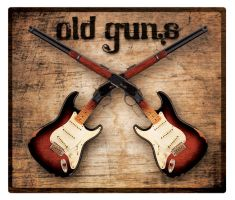 Band Logo for 'Old Guns' by button920