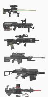 Weapon Collection 1 by MrJumpManV4