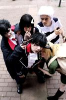 Blood Lad Cosplay Group by Kaitolicious